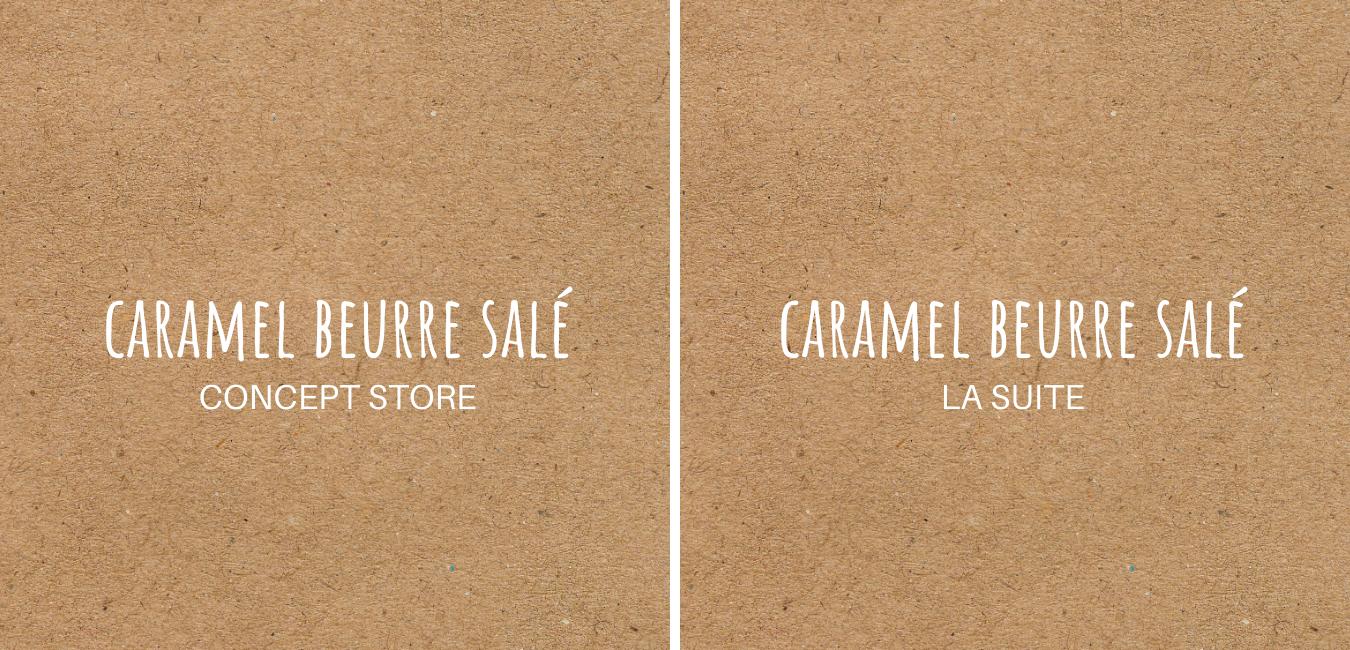 Logo de Caramel Beurre Salé Concept Store