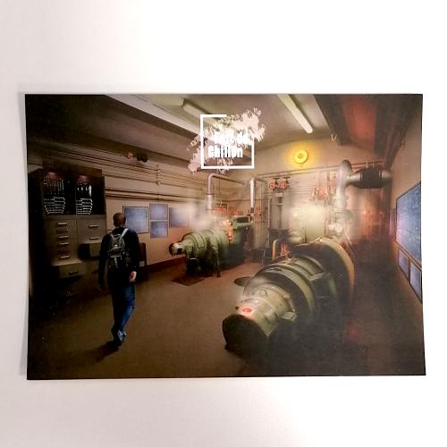 Photo de Carte postale Salle des m