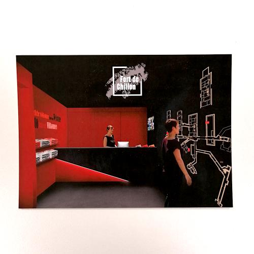 Photo de Carte postale Réception