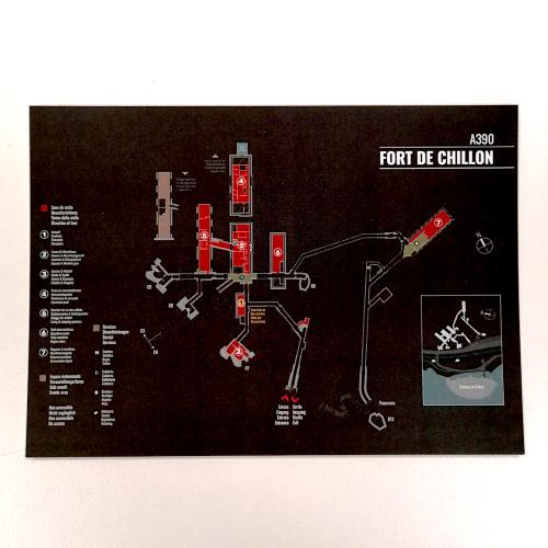 Photo de Carte postale Plan