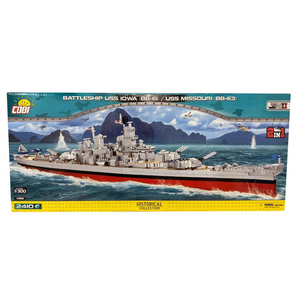Battleship USS IOWA (BB-61) / USS Missouri (BB-63) 10+, 4812 pièces