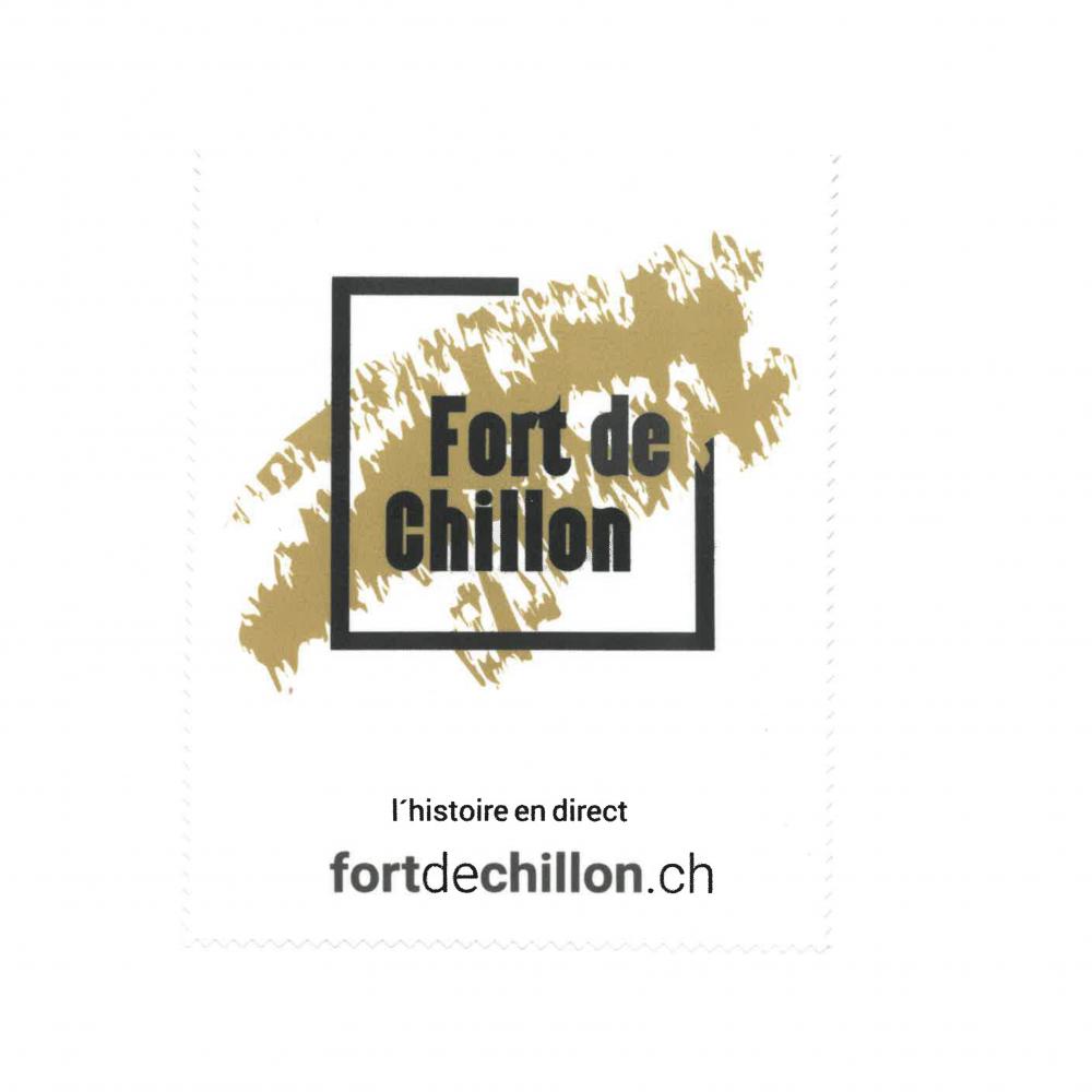 Photo de Chiffon à lunettes logo