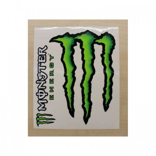 Photo de AUTOCOLLANT MONSTER 06