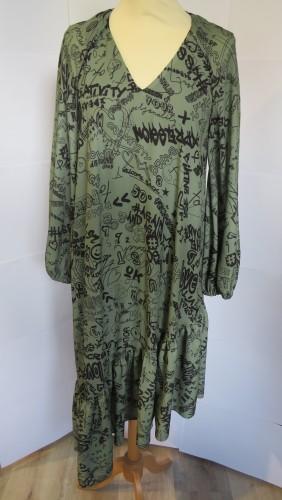 Asymetric dress